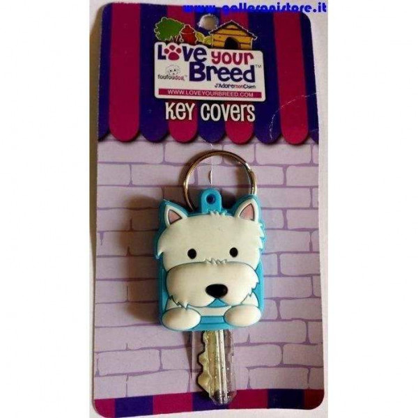 Key Cover razza cane WEST TERRIER - FouFouDog
