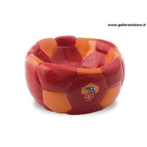 CIOTOLA CERAMICA FOOTBALL ufficiale della Roma per cani - Squadre di calcio Serie A