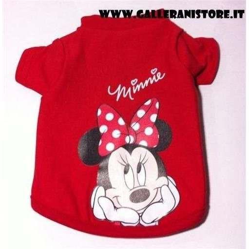 Felpa elasticizzata di Minnie per cani - Abbigliamento Disney