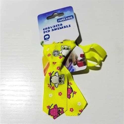 Mini Cravattina Gialla fantasia per cani - Nobleza