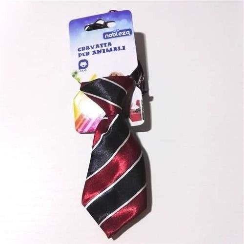 Cravatta per cani rosso nero - Nobleza