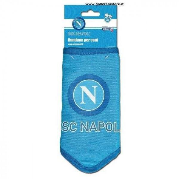 BANDANA ufficiale del Napoli per cani - Squadre di calcio Serie A