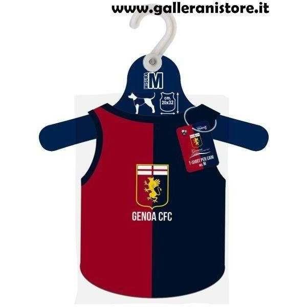Maglia GENOA calcio per cani - Squadre di Serie A