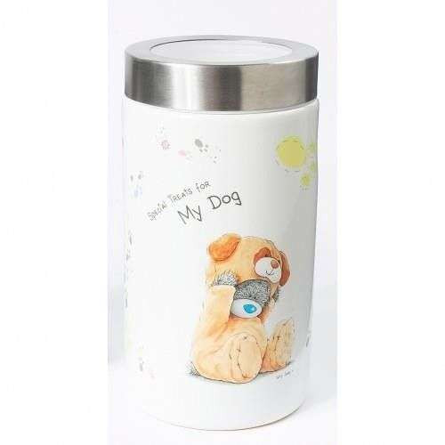 Barattolo in ceramica orsetto per premi e biscotti cani - Me To You