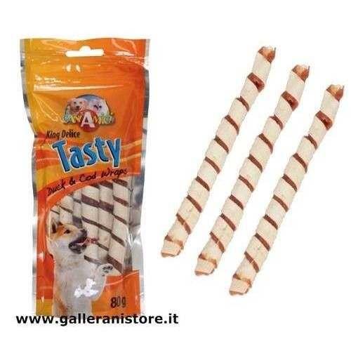 Tasty Stick Anatra e Merluzzo alimento per cani - Croci