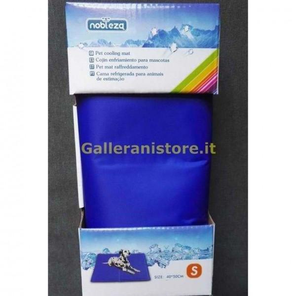 Pet Mat Tappetino rinfrescante termoregolatore colore Blu cm 40x50 Nobleza