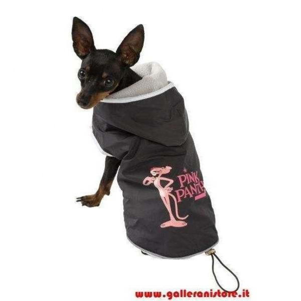 Impermeabile interno Pile staccabile per cani - La Pantera Rosa