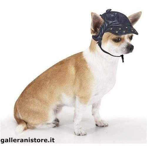 Cappello Dark Rider per cani - Croci