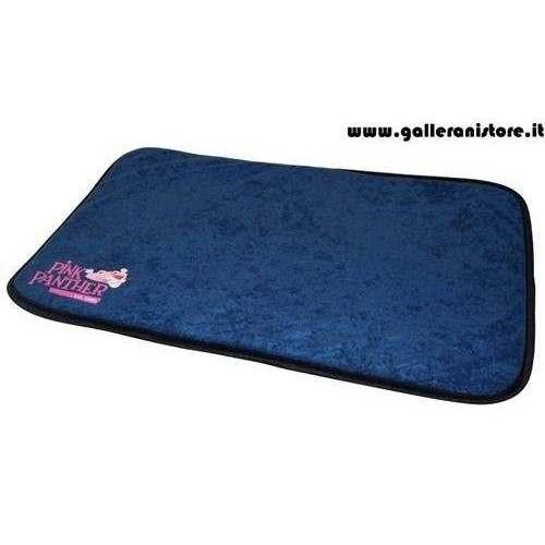 Materassino Pink Panther Blu Navy per cani - La Pantera Rosa