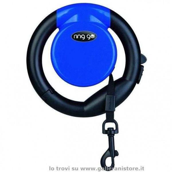 Guinzaglio allungabile RING GO Blu - Vitakraft