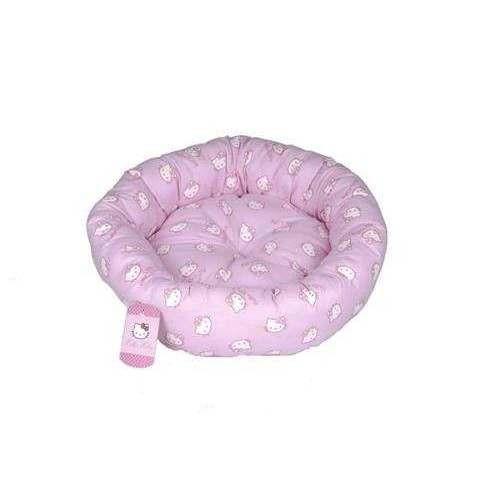 Cesta ovale Face Pink cm 50 per gatti e cani - Hello Kitty