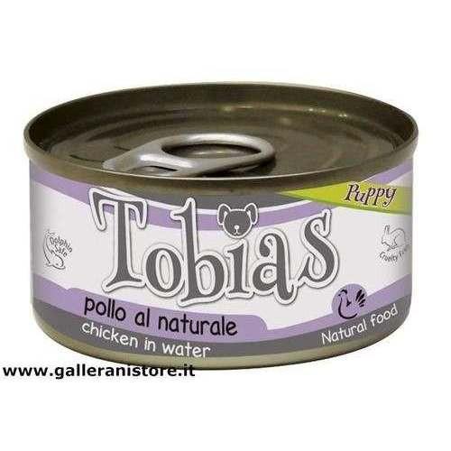 TOBIAS PUPPY Pollo al naturale 85 gr cibo per cani - Croci