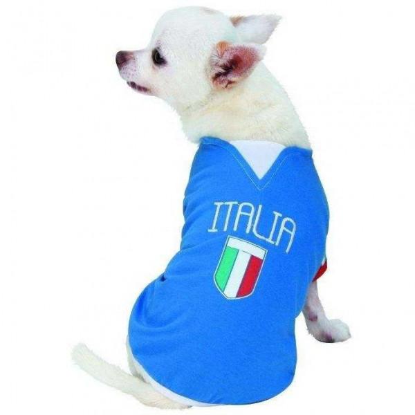 Maglietta calcio ITALIA per cani - CaniAmici