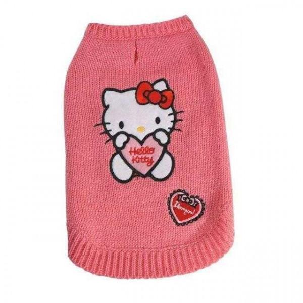 Maglioncino Hello Kitty I LOVE YOU per cani