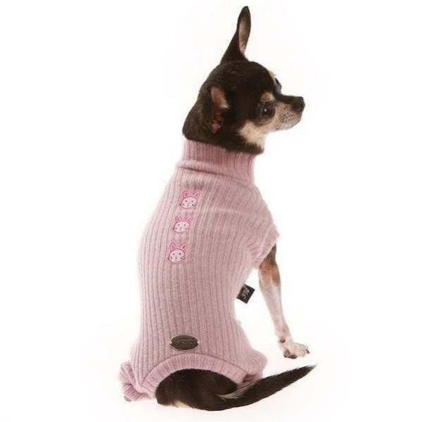 Tutina Lana rosa per cani - Trilly tutti Brilli
