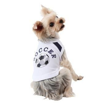 Canotta WORLDPUP ROYAL Bianca per cani - PUPPIA