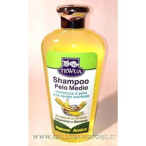 Shampoo per cani a PELO MEDIO Tewua