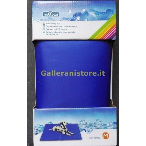 Pet Mat Tappetino rinfrescante termoregolatore colore Blu cm 50x60 Nobleza
