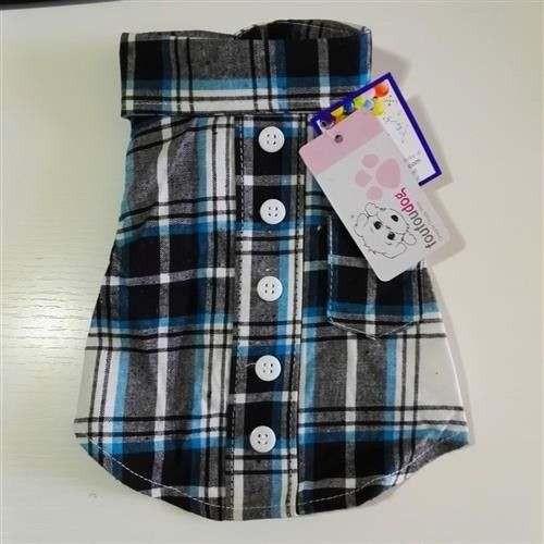Camicia Plaid Shirt per cani - Foufoudog