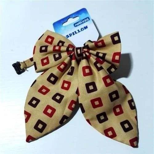 Papillon cravattone per cani nocciola - Nobleza