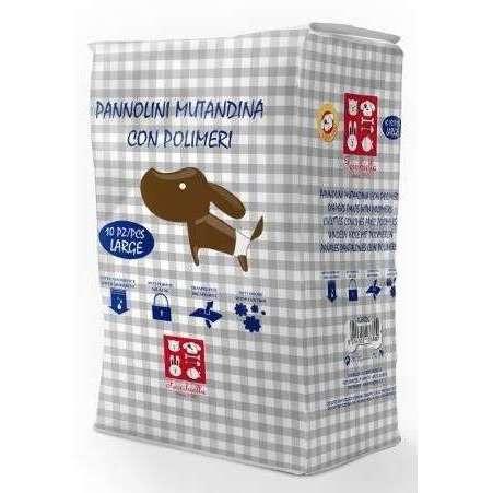 Pannolini Mutandina con polimeri Large per cani - Fuss-Dog