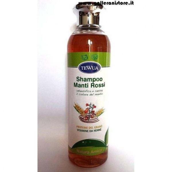 Shampoo Manti ROSSI Natura Amica - Tewua