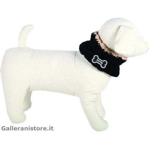 Scaldacollo Nero per cani - Fuss Dog