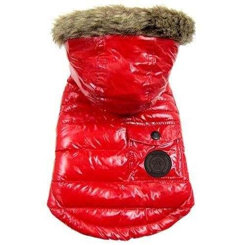Giubbotto imbottito piumino WINTER COAT Rosso per cani - FouFouDog
