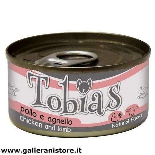 TOBIAS Pollo e Agnello 85 gr cibo per cani - Croci