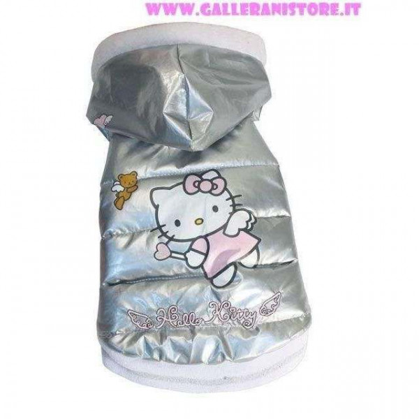 Bomber Silver Hello Kitty per cani