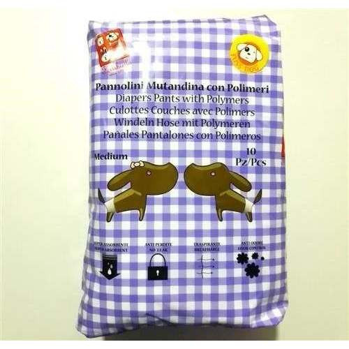 Pannolini Mutandina con polimeri Medium per cani - Fuss-Dog