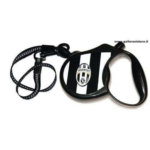 Guinzaglio allungabile ufficiale della Juventus per cani - Squadre di calcio Serie A