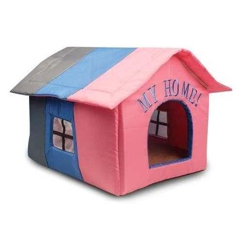 Casetta MY HOME rosa WATER-PROOF cuccia per cani e gatti - Ferribiella