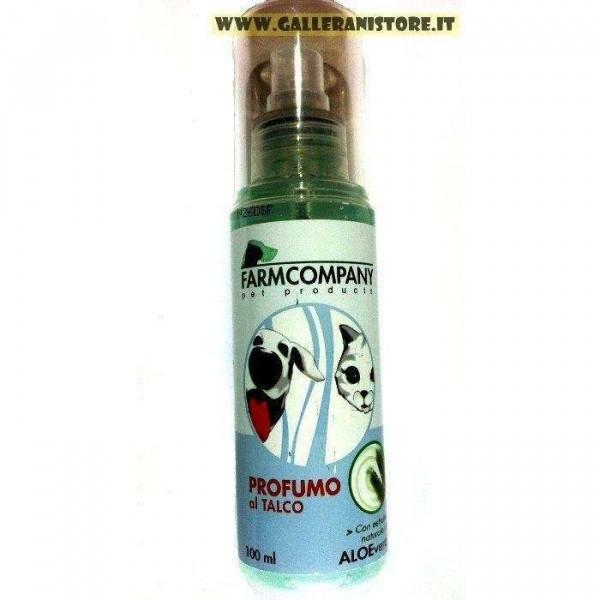 Profumo per cani e gatti al Talco 100 ml Farm Company