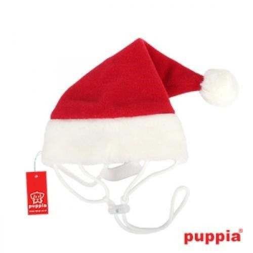 SANTA'S HAT Rosso cappello natalizio per cani - PUPPIA