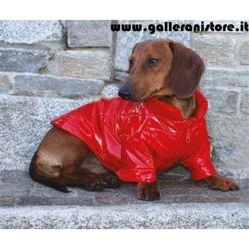 Bomber impermeabile St.Moritz Red per cani - CaniAmici