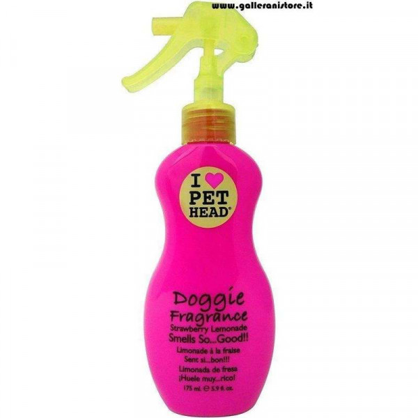 DOGGIE FRAGRANCE Deodorante alla fragola per cani - I LOVE PET HEAD