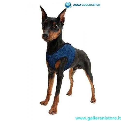 Pettorina refrigerante Blu per cani - AQUA COOLKEEPER