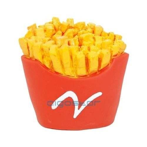Chips Toy Patatine fritte gioco in vinile con sonoro per cani