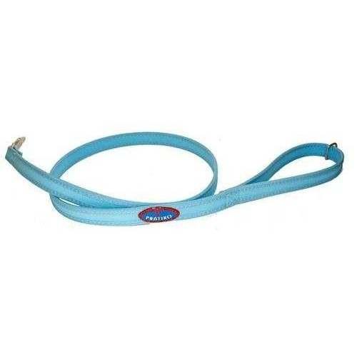 Guinzaglio Azzurro/Bluette con fettuccia per cani - Pratiko