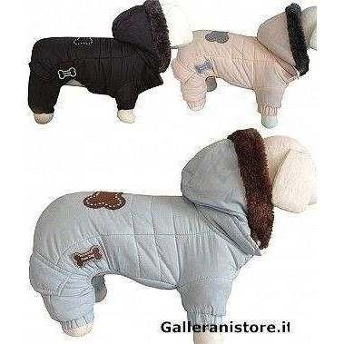 Tutina per cani cappottino Super Cold 4 zampe - Fuss Dog