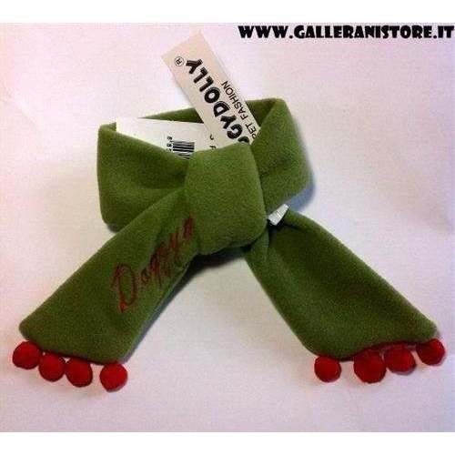 Sciarpa in pile per cani Green Scarf - Doggy Dolly