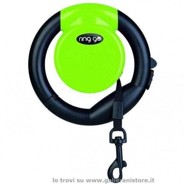Guinzaglio allungabile RING GO Verde - Vitakraft