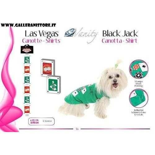 Canotta Shirt BLACK JACK per cani - Vanity