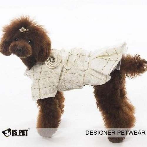Vestitino Rebecca White per cani