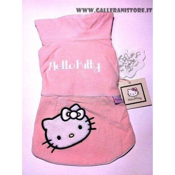 Cappotto per cani HELLO KITTY Rosa - FIX FOR PETS