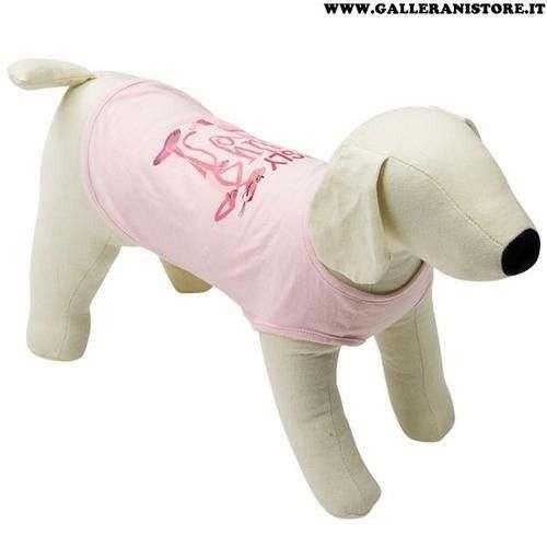 T-shirt smanicata Pink Panther Rosa per cani - La Pantera Rosa