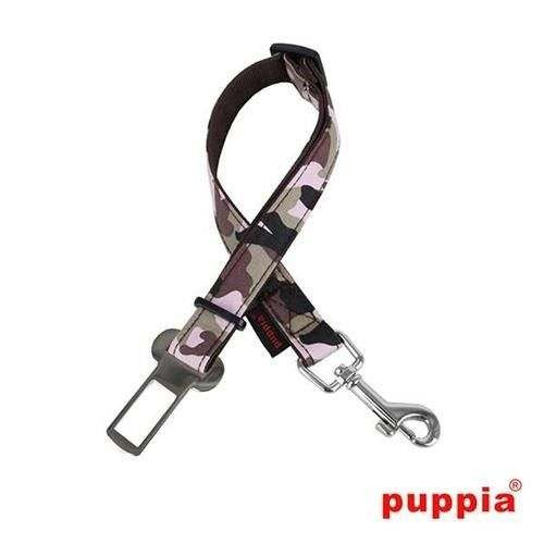 Cintura sicurezza auto Mimetica pink per cani - PUPPIA