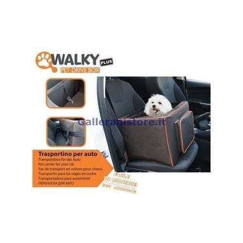 Seggiolino Auto Walky PetDriveBox Plus per cani - Camon