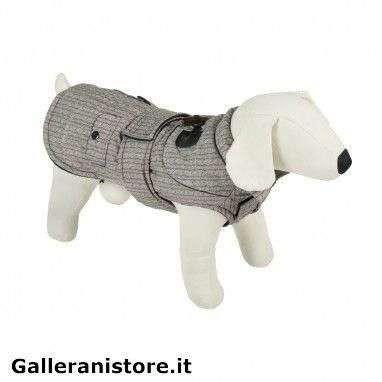 Cappotto impermeabile Alamari Grigio per cani - Farm Company